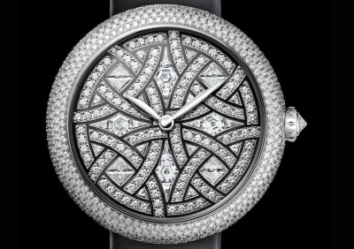 "CHANEL unveils ""Mademoiselle Privé Aubazine"" watch ahead of Baselworld 2017"