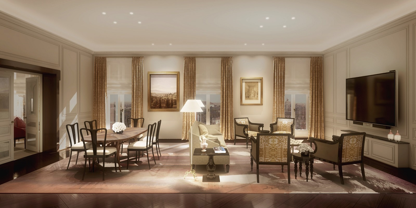 Dorchester Collection´s Hotel Eden in Rome opens April 2017 - CPP ...