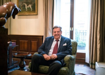 Johann Rupert, Chairman Richemont Group