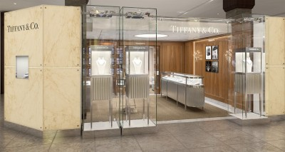 Tiffany&Co boutique at Harrods, London