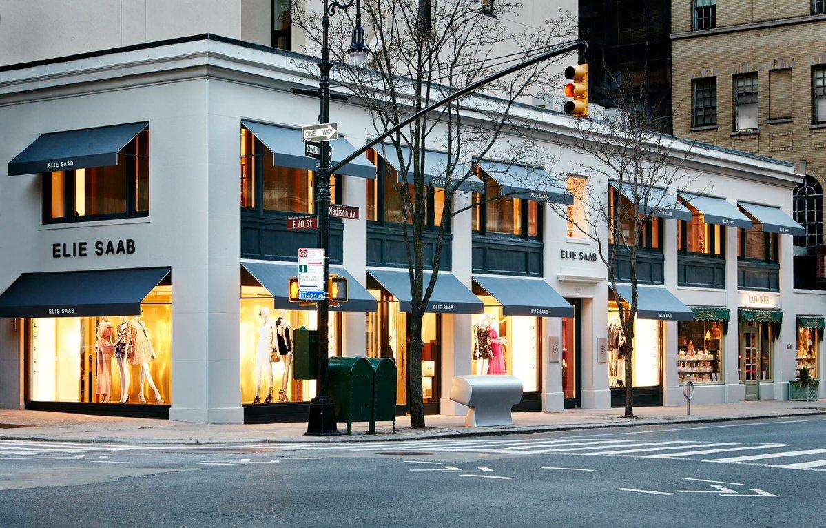 Elie saab opens first u s store in new york on madison av for Store fenetre new york