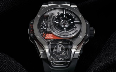 Hublot unveils its most complicated watch, MP-09 Tourbillon Bi-Axis