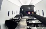 Private jet-themed bar (The Air Force Plein Bar) Phlipp Plein, Milan