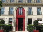 La Réserve Paris - entrance