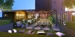 Mayfair Hotel Los Angeles - renovated pool bar