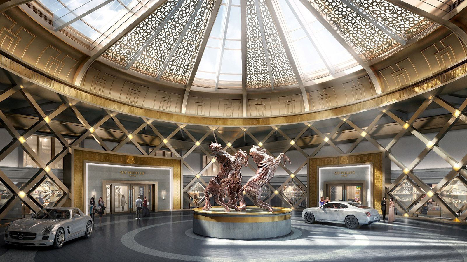 The St Regis Opens In Astana Fall 2017 Cpp Luxury