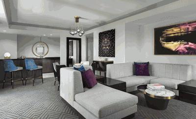Cosmopolitan of Las Vegas newly renovated suite