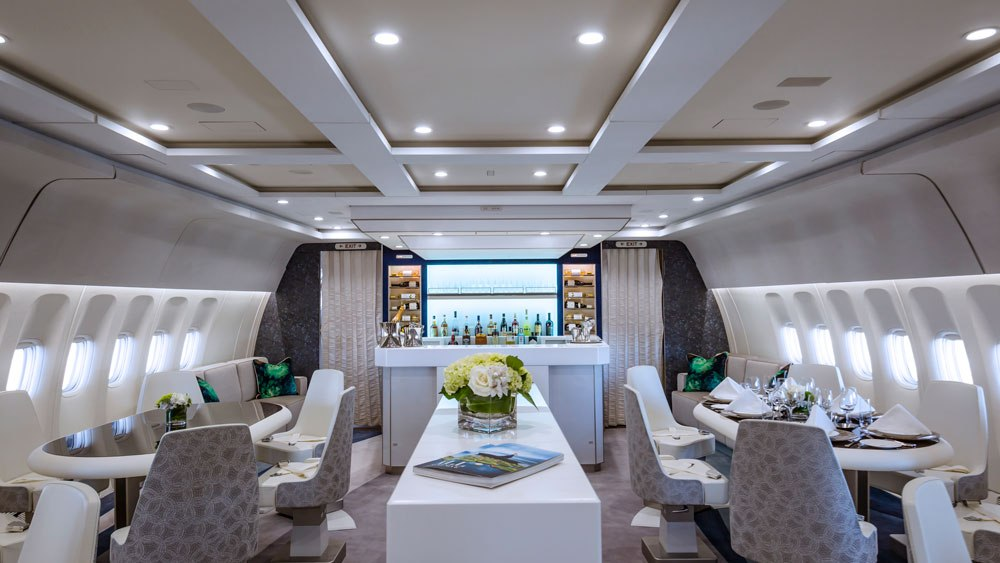 Crystal Aircruises Debuts New Luxury Jet Crystal Skye