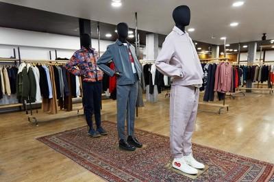 Liberty London - new menswear section
