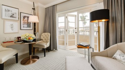 Four Seasons Hotel Los Angeles at Beverly Hills renovated suite