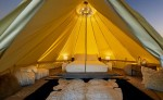 Glamping tent at the Beverly Wilshire, a Four Seasons Hotel