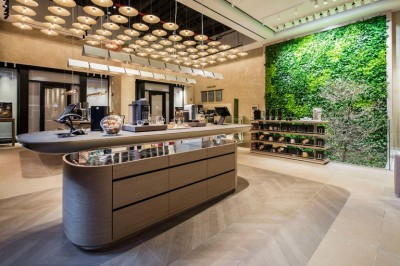 Nespresso new store New York at Madison Ave