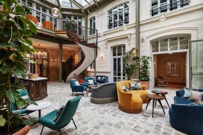 The Hoxton, Paris lobby