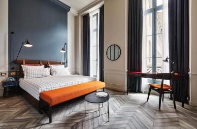 The Hoxton, Paris guestroom