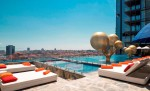 Fairmont Quasar Swimming Pool by Marcel Wanders