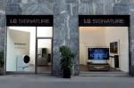 LG SIGNATURE flagship store Milan