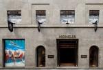 Moncler new flagship store Milan, Via Montenapoleone