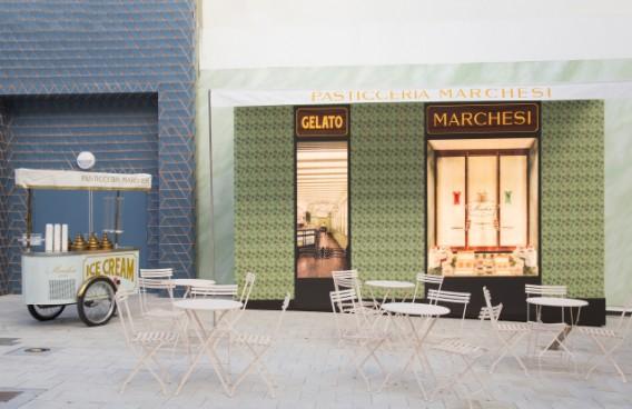Pasticceria Marchesi Pop Up At Miami Design District (Prada Group)