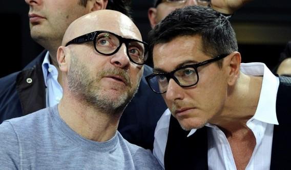 Domenico Dolce and Stefano Gabbana of Dolce & Gabbana