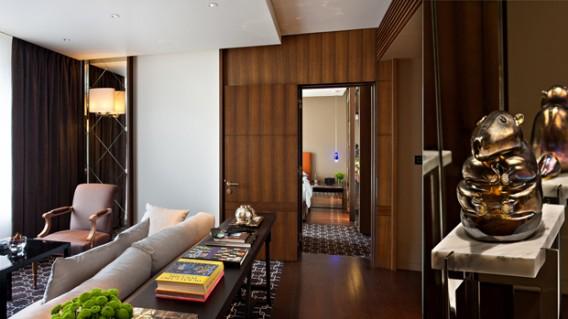 Ararat Park Hyatt, Moscow, recently renovated suite