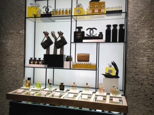Chanel Beauty Bar at Chanel flagship store London, New Bond Street