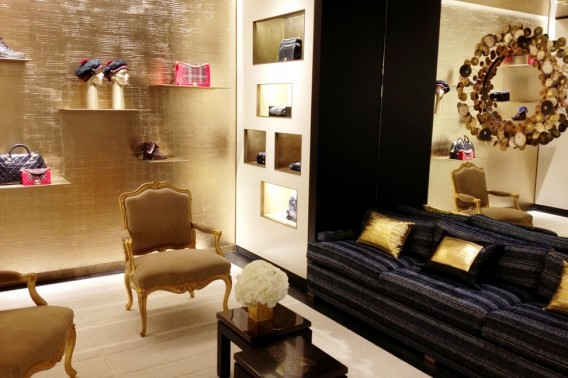 Chanel flagship store London, New Bond Street