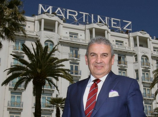 Claudio Ceccherelli, General Manager of Grand Hyatt Martinez, Cannes